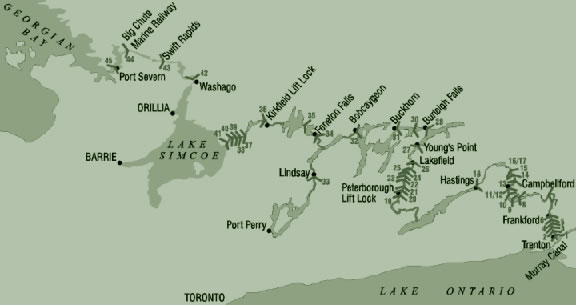 what is the trent severn waterway